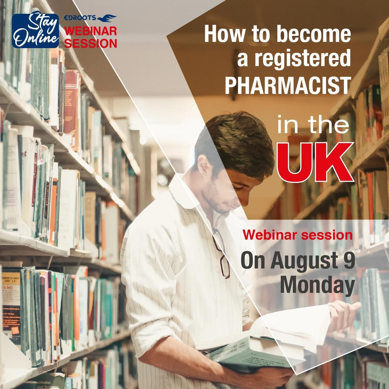 webinar on how to become a registered pharmacist in uk